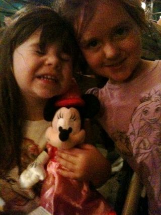 Mk day- Paigey with Minnie